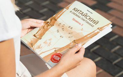 Книга «Китайский в схемах-паутинках, 5 уровень»